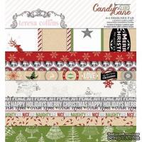 Набор двусторонней бумаги Teresa Collins - Candy Cane Lane - Pad, размер 15х15 см
