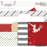 Мини-папки Teresa Collins - Candy Cane Lane - File Folders