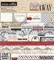 Набор двусторонней бумаги Teresa Collins - Far & Away - Pad, размер 15х15 см