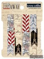Бумажные украшения - Флажки на нити от Teresa Collins - Far & Away - Garland