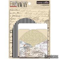 Набор конвертов Teresa Collins - Far & Away Envelopes