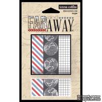 Бумажный скотч Teresa Collins - Far & Away, 3 шт.