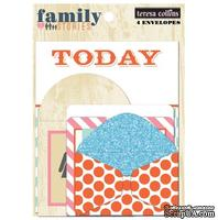 Набор конвертов Teresa Collins Designs - Family Stories - Envelopes