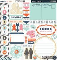 Высечки из чипборда Teresa Collins Designs - Family Stories, 30х30 см
