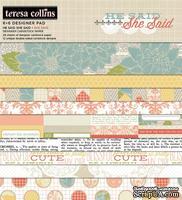 Набор двусторонней бумаги Teresa Collins - She Said - Pad, размер 15х15 см