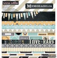 Набор двусторонней скрапбумаги Teresa Collins Designs - Memorabilia - Paper Pad, 15х15 см