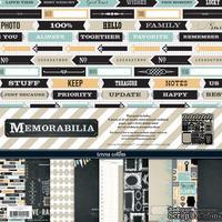 Набор двусторонней скрапбумаги и декора Teresa Collins Designs - Memorabilia - Collection Pack, 30х30 см