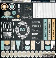 Высечки из чипборда Teresa Collins Designs - Memorabilia, 30х30 см