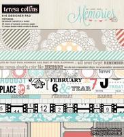 Набор двусторонней бумаги Teresa Collins - Memories - Pad, размер 15х15 см