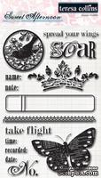 Набор акриловых штампов Teresa Collins Designs - Sweet Afternoon - Stamps