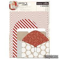 Набор конвертов Teresa Collins Designs - Santa's List - Envelopes