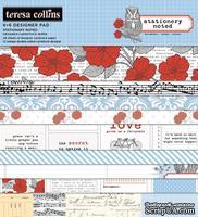 Набор двусторонней бумаги Teresa Collins - Stationery Noted - Pad, размер 15х15 см