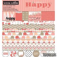 Набор двусторонней скрапбумаги Teresa Collins Designs - You Are My Happy - ScrapUA.com
