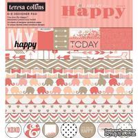 Набор двусторонней скрапбумаги Teresa Collins Designs - You Are My Happy