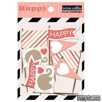 Флажки Teresa Collins Designs - You Are My Happy - Flag Toppers