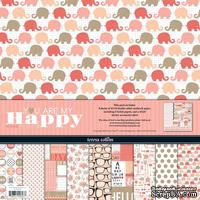 Набор скрапбумаги и декора Teresa Collins Designs - You Are My Happy - Collection Pack