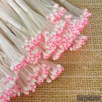 Тайские тычинки, бело - розовые головки, 46-52 шт.