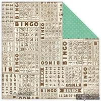 Лист скрапбумаги от Echo Park - Bingo, This & That Graceful, 30х30 см