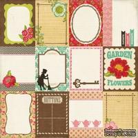 Набор двусторонней скрапбумаги от Echo Park - Journaling Cards - ScrapUA.com