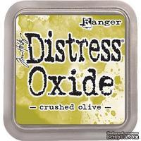 Оксидные чернила Ranger - Tim Holtz - Distress Oxides - Crushed Olive - ScrapUA.com