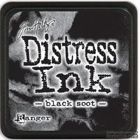 Штемпельная подушка Ranger - Distress Mini Ink Pad - Black Soot