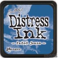 Штемпельная подушка Ranger - Distress Mini Ink Pad - Faded Jeans