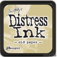 Штемпельная подушка Ranger - Distress Mini Ink Pad - Old Paper