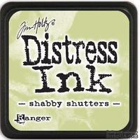 Штемпельная подушка Ranger - Distress Mini Ink Pad - Shabby Shutters