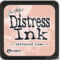 Штемпельная подушка Ranger - Distress Mini Ink Pad - Tattered Rose