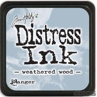 Штемпельная подушка Ranger - Distress Mini Ink Pad - Weathered Wood