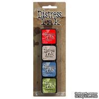 Набор штемпельных подушек Ranger - Distress Mini Ink Kit - Kit 5
