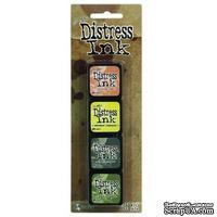 Набор штемпельных подушек Ranger - Distress Mini Ink Kit - Kit 10