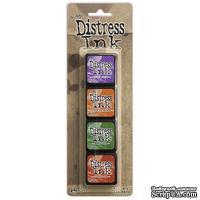 Набор штемпельных подушек Ranger - Distress Mini Ink Kit - Kit 15