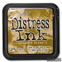 Штемпельная подушка Ranger Distress Ink Pad -  Ranger - Distress Ink - Crushed Olive