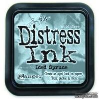 Штемпельная подушка Ranger Distress Ink Pad - Iced Spruce