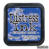 Штемпельная подушка Ranger Distress Ink Pad - July - Blueprint Sketch