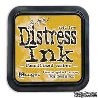 Штемпельная подушка Ranger Distress Ink Pad - April - Fossilized Amber