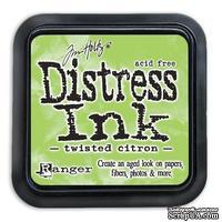 Штемпельная подушка Ranger Distress Ink Pad - May - Twisted Citron