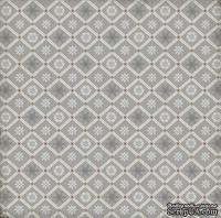 Лист скрапбумаги от Echo Park - Snowflake Flurry, 30х30 см