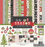 Набор бумаги и декора от Echo Park - Tis the Season Collection Kit