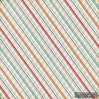 Лист скрапбумаги от Echo Park - Plaid, 30х30 см