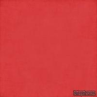 Лист скрапбумаги от Echo Park - Red/Kraft, 30х30 см