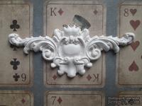 Гипсовое украшение - Виньетка, 10х4 см