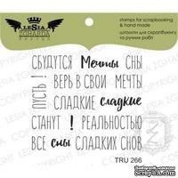 Набор акриловых штампов Lesia Zgharda TRU266 Сбудуться мечты