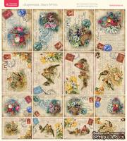 Лист с картинками от Тамары Старцевой - №10, 20,4х21,5 см, 16 шт.