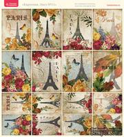 Лист с картинками от Тамары Старцевой - №11, 20,4х21,5 см, 16 шт. - ScrapUA.com