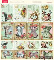 Лист с картинками от Тамары Старцевой - №13, 20,4х21,5 см, 16 шт.