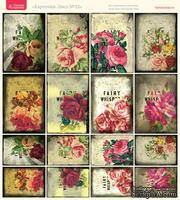 Лист с картинками от Тамары Старцевой - №22, 20,4х21,5 см, 16 шт.