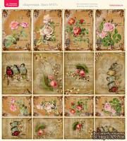 Лист с картинками от Тамары Старцевой - №27, 20,4х21,5 см, 16 шт.