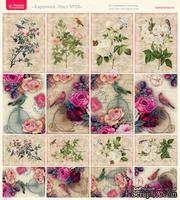 Лист с картинками от Тамары Старцевой - №28, 20,4х21,5 см, 16 шт.